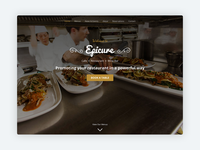 Epicure – Bootstrap 4 Template for High-end Restaurants