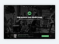 Decibel - Bootstrap 4 Template for Bands/Musicians