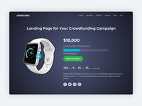 Onboard - Bootstrap 4 Template For Crowdfunding Campaigns