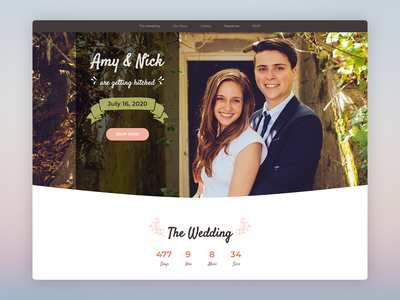 Matrimony – Bootstrap 4 Template for Wedding Invitations event personal love html bootstrap template bootstrap css html5 theme responsive website template landing page wedding engagement bootstrap theme bootstrap 4 template