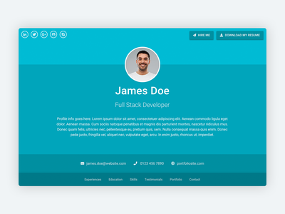 Sphere – Bootstrap 4 Template for Resume/CV/Portfolio software development developers developer website template bootstrap template bootstrap theme personal branding personal brand landing page cv landing personal portfolio resume bootstrap 4 bootstrap template theme template design theme design
