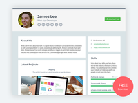 Developer - Free Bootstrap 4 Portfolio Template for Developers