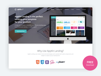 Appkit Landing - Free Bootstrap 4 Landing Page for Startups
