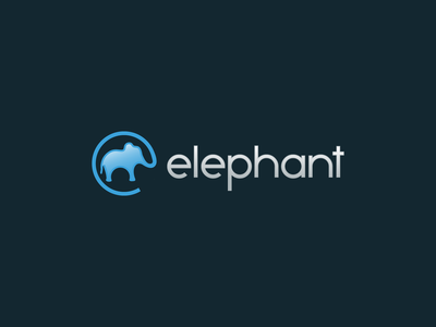 at elephant for sale brand blue mammal animal software technology internet email at sign trunk elephant logo