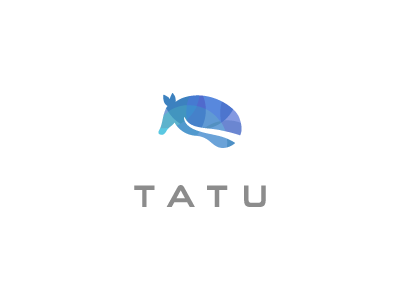 TATU tatu armadillo animal shelter care defense defensive carapace shield brand logo graphic design
