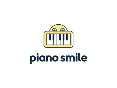 piano smile teach notes midi keyboard music learn smirk yellow education children smile piano