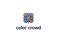 color crowd