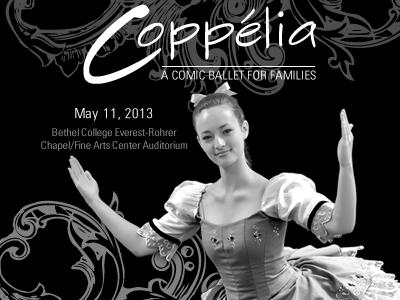 Ballet Program Cover ballet dance program