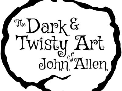 Dark & Twisty Logo logo gothic art