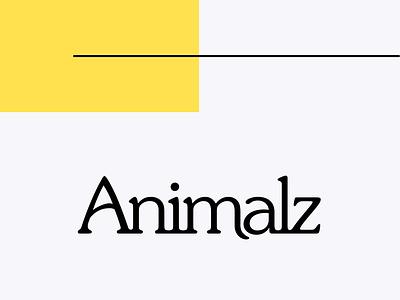 Animalz Logo wordmark branding logo animalz