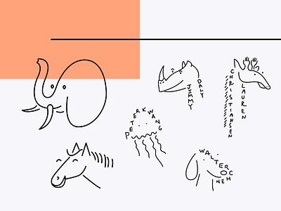 Animalz Illustrations illustration design animalz