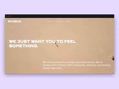 BudBud Site website design branding design