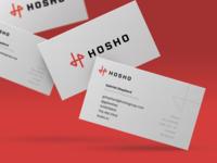 Hosho Branding & Business Cards