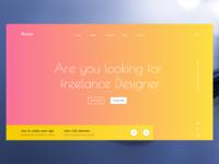 Awaex - full screen design