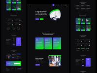 Awwab - agency home page design