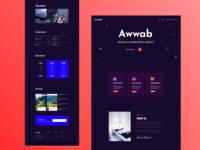 Design & Marketing agency landing page