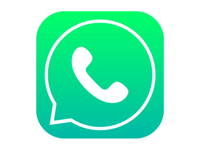 Whatsapp Icon With Ios7 Style By Mononelo Dribbble