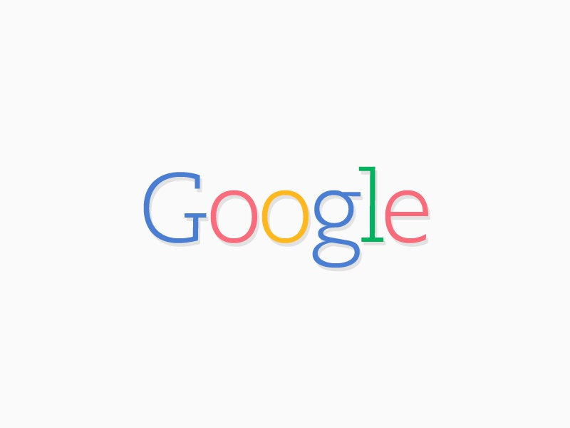 Google logo google logo redesign colors flat