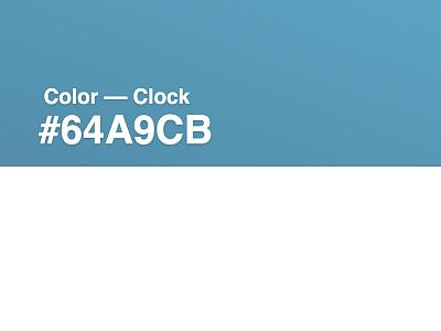 Color  ––  Clock code codepen mononelo clock color