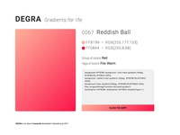 Degra – Gradients for life