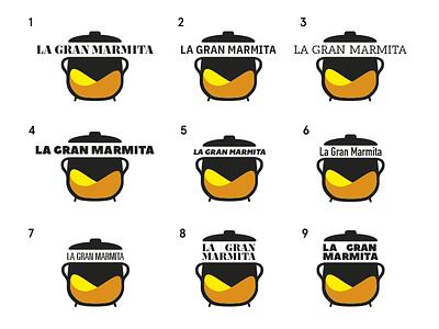 Please, help me to decide! decision project mononelo marmita logo