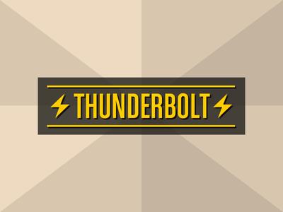 Thunderbolt (horizontal)