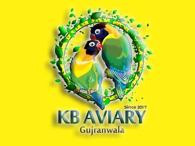 Kb Aviary logo logodesign logotype logo design logos logo
