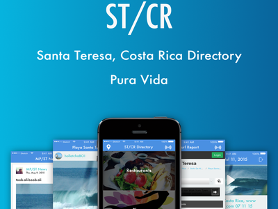 Santa Teresa Community App api directory app ios costa rica