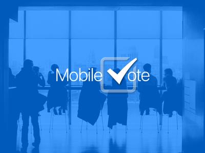 Mobile Vote App iphone app ios vote