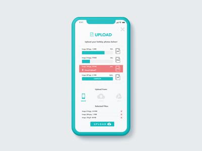 Daily UI Challenge 031 - Upload