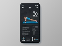 Daily UI Challenge 041 - Workout