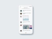 Daily UI Challenge 047 - Activity Feed
