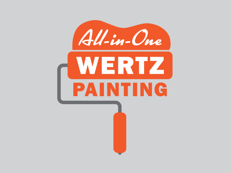 Painting Logo roller paint