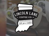 Lincoln Lane Coffee Sticker 2