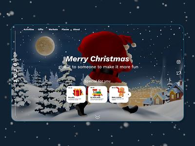 web design-Christmas 2020 gift santaclaus webdesign web christmas christmas