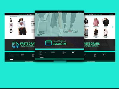 Pezzado interface ui design webdesign website