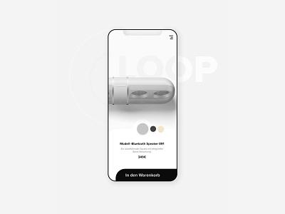 UI Design App mobile ui ui typography app flat design