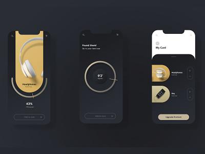Ui Design App Valt branding vector graphicdesign ui flat app design