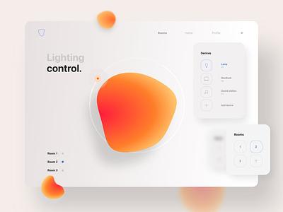 A design concept for a smart home website 🖥 uiuxdesigner uidesigner ux uiux graphicdesign colors typography app ui design