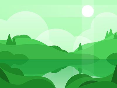 Green Landscape landscape