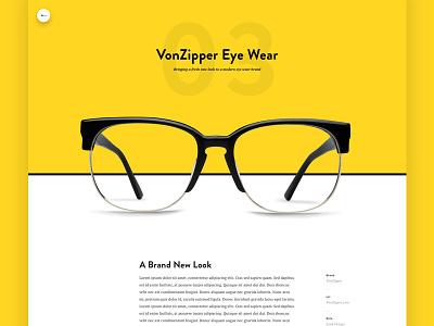 Portfolio Case Study - Vonzipper