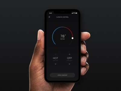 Mercedes-Benz Connect Concept - Climate Control