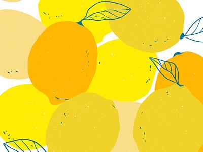 Lemon lemon typography icon logo illustration flat branding illustrator illustraion minimal digitalart digital design artwork art 2d