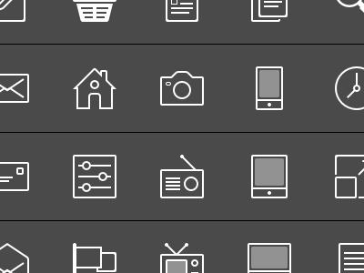 Sketch icons freebie sketch ui pictograms glyphs icons .sketch line vector free