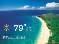 Weather in Kāʻanapali, HI