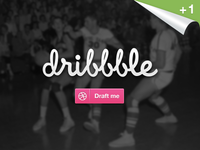 +1 Dribbble Invitation