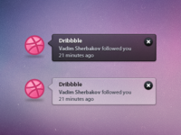 Dribbble Growl