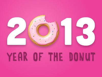 2013 year of donut