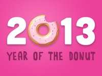 2013: Year of the donut