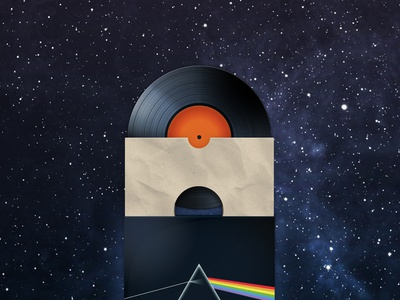Vinyl vinyl record illustration icon music sleeve